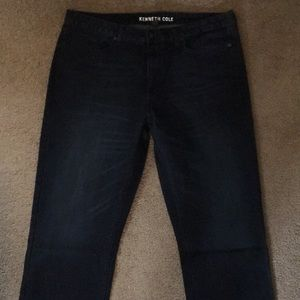 Kenneth Cole Straight Stretch Jeans